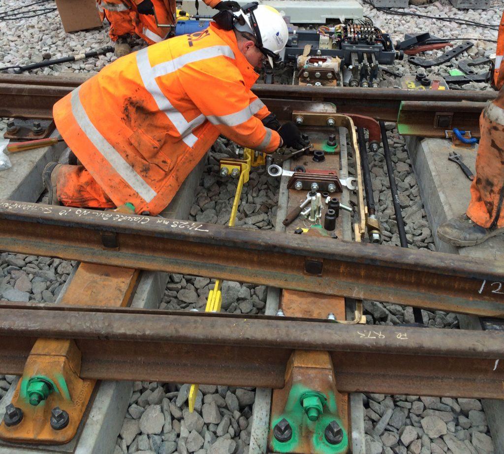 Bathampton Junction S&C Renewals and Track Lowering